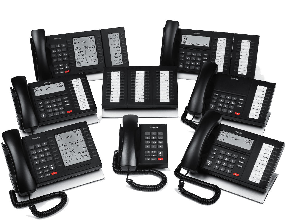 Toshiba Strata CIX Business IP Phones