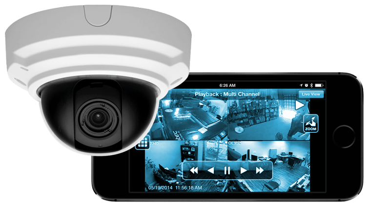 Security Camera, Surveillance App on iPhone